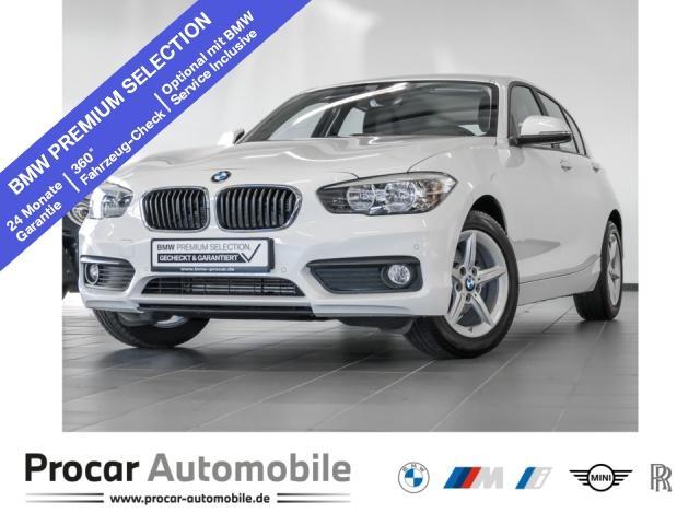 BMW 116d Advantage Navi Business PDC FIN. ab 0,99%, Jahr 2017, Diesel