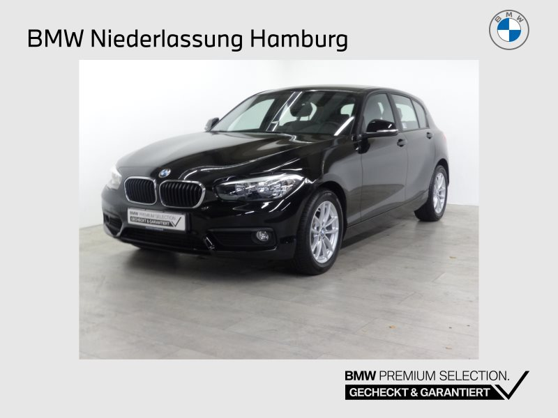 BMW 118i 5-Türer Advantage Navi Bus. Tempomat Shz, Jahr 2018, Benzin