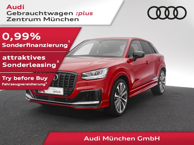 """Audi SQ2 TFSI S tronic HuD/AHK/19""""Zoll/ACC, Jahr 2019, petrol"""