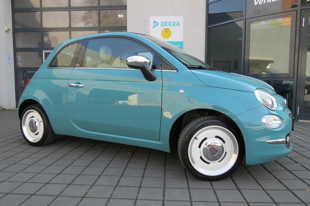 Fiat 500 Cabrio 1.2 8V Anniversario Automatik/Klimaut, Jahr 2018, Benzin