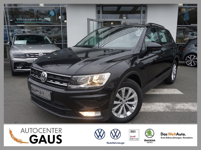 Volkswagen Tiguan Trendline 2.0 TDI AHK Navi SHZ, Jahr 2017, Diesel