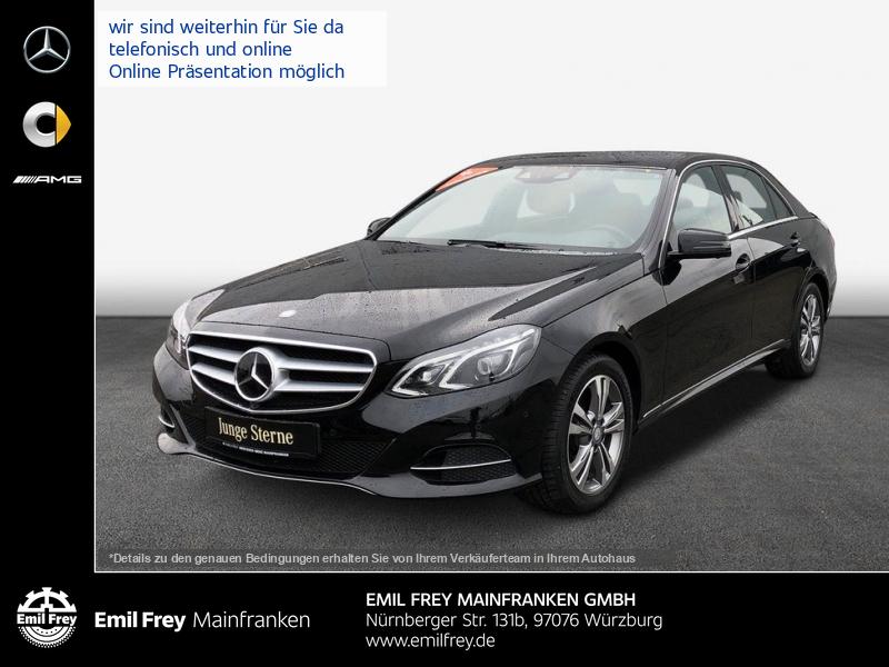 Mercedes-Benz E 350 BT Avantgarde+COMAND+Stndhz+Distro+AHK+Airmat, Jahr 2015, Diesel