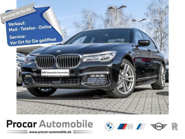 BMW 730d xDrive M Sportpaket Standhzg.Fin.ab1%, Jahr 2017, Diesel