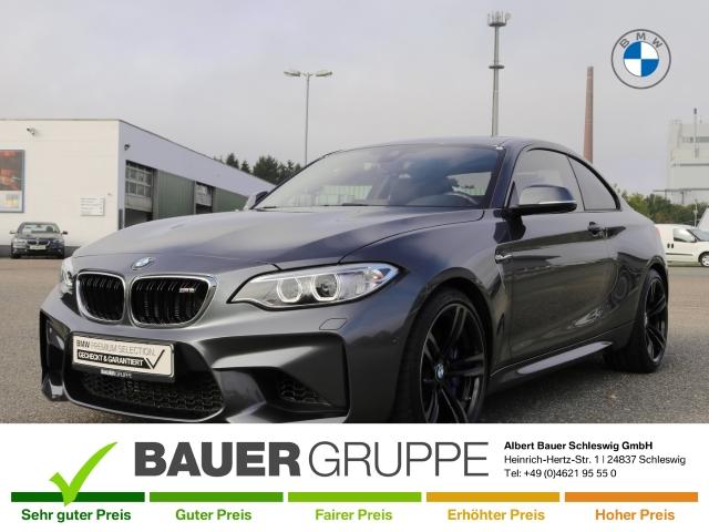 BMW M2 Basis Coupe Navi Keyless Kurvenlicht e-Sitze PDCv+h LED-hinten LED-Tagfahrlicht Verkehrszeichenerk., Jahr 2016, Benzin