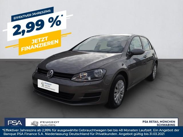 Volkswagen Golf 1.6 TDI BlueMotion Trendline Klima Sitzheizung, Jahr 2014, Diesel