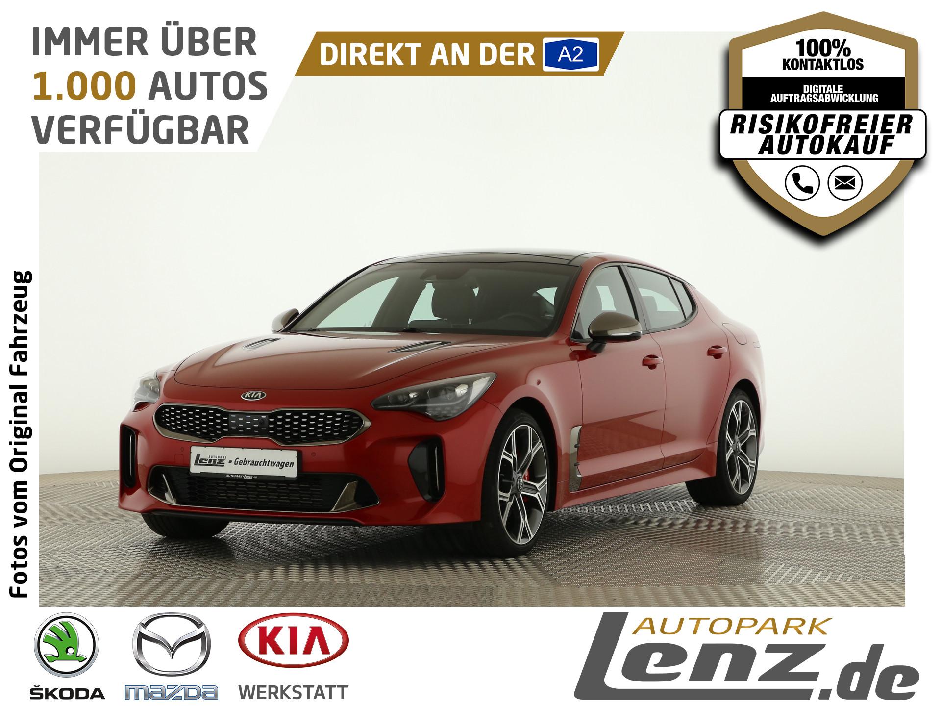 Kia Stinger GT LED AreaView Navi HUD GSD Leder FSE, Jahr 2017, Benzin
