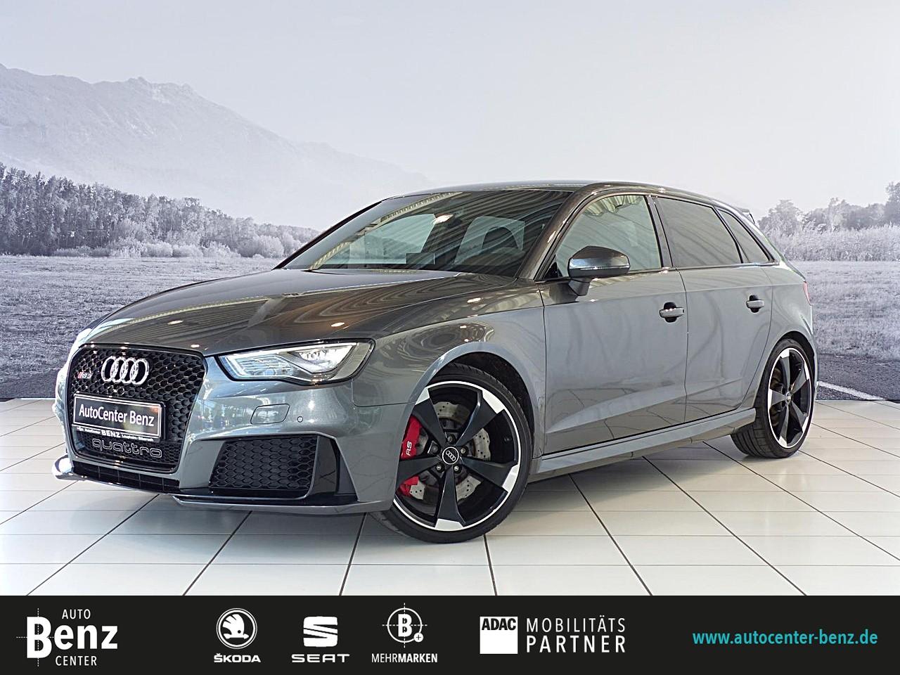 Audi RS3 Sportb.2.5 TFSI 280 KM/H, SPORTABGAS, CARBON, Jahr 2015, Benzin
