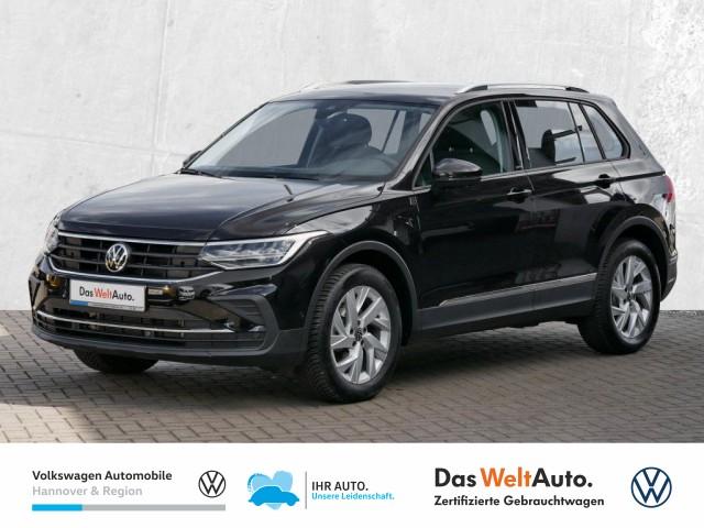 Volkswagen Tiguan 1.5 TSI United Navi LED AHK Klima Lenkradhz ACC, Jahr 2021, Benzin