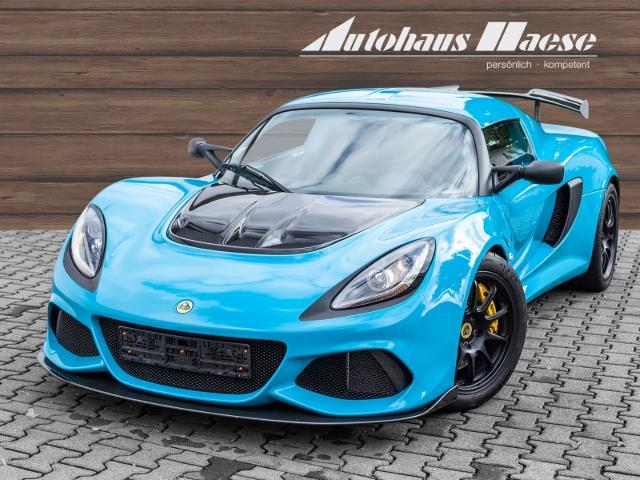 Lotus Exige Sport 410 Miami Blue Klima, Jahr 2018, Benzin