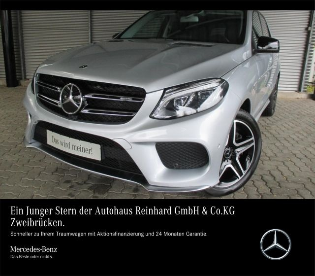 Mercedes-Benz GLE 43 AMG Sitzklim+AHK+Standhz+Airmatic+Distron, Jahr 2017, petrol