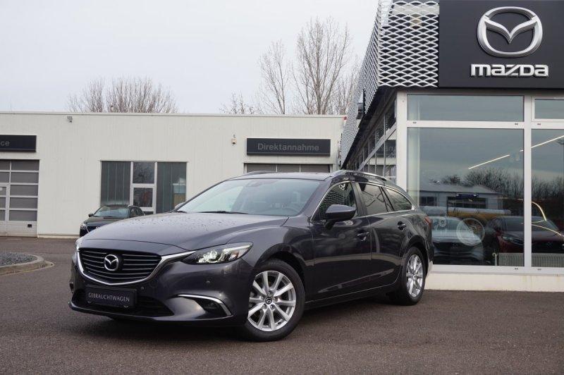 Mazda Mazda 6 2.2 SKY-D Exclusive-Line Voll-LED/PDC/Licht-Regensensor, Jahr 2015, Diesel