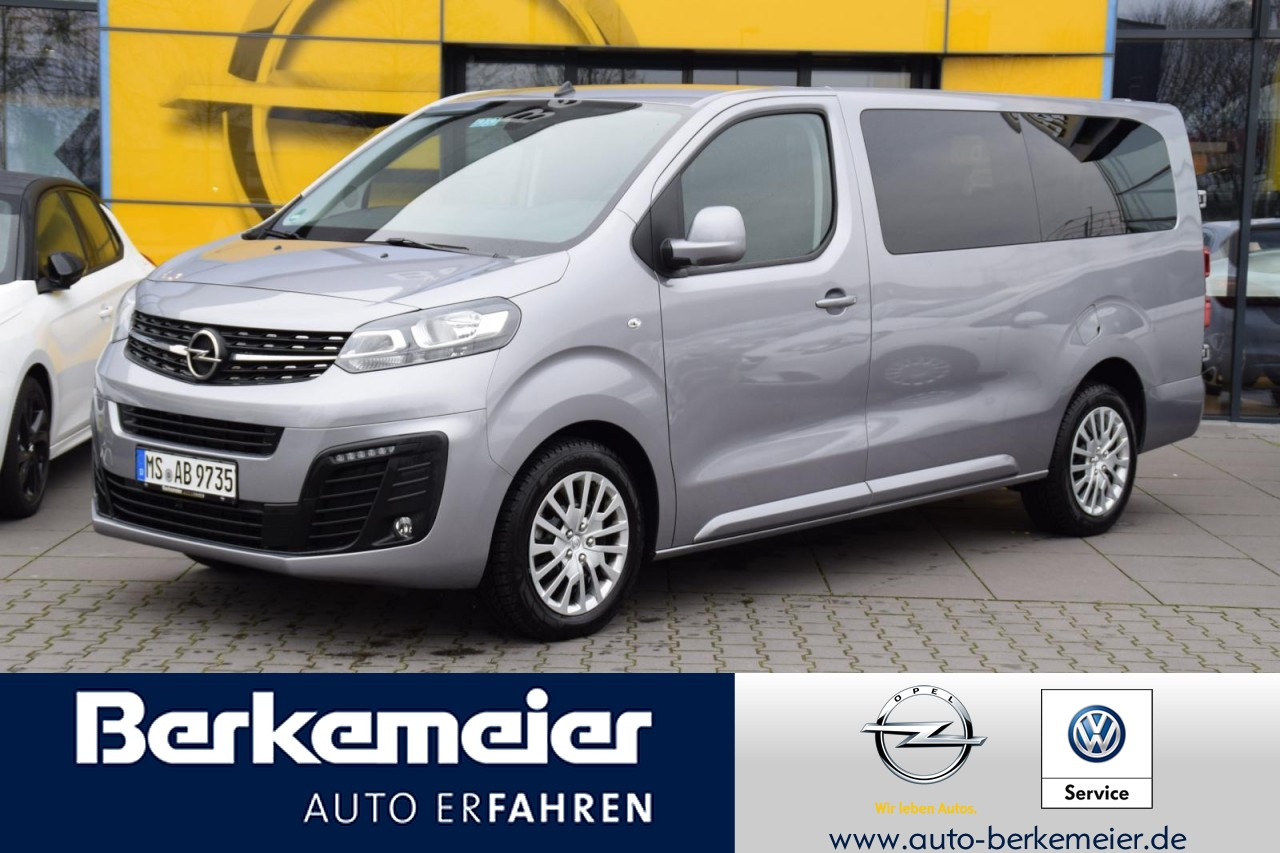 Opel Zafira Life 1.5D Multimedia/Klima/Parkpi/9-Sitzer, Jahr 2019, Diesel