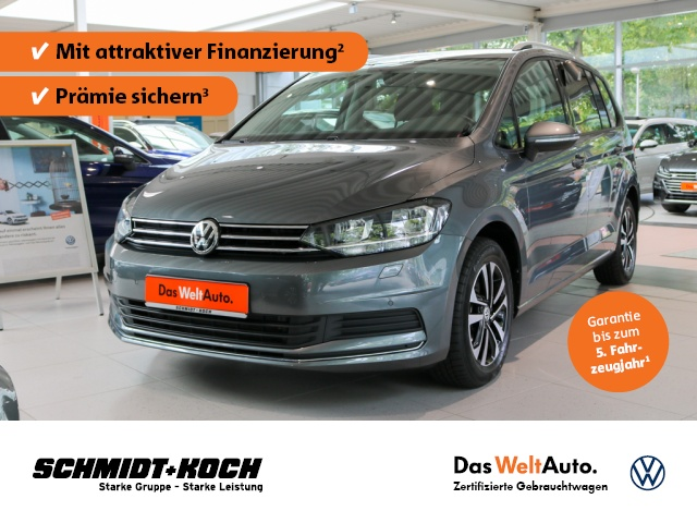 Volkswagen Touran 2.0 TDI BMT UNITED Navi,AHK,7-Sitzer, Jahr 2020, Diesel