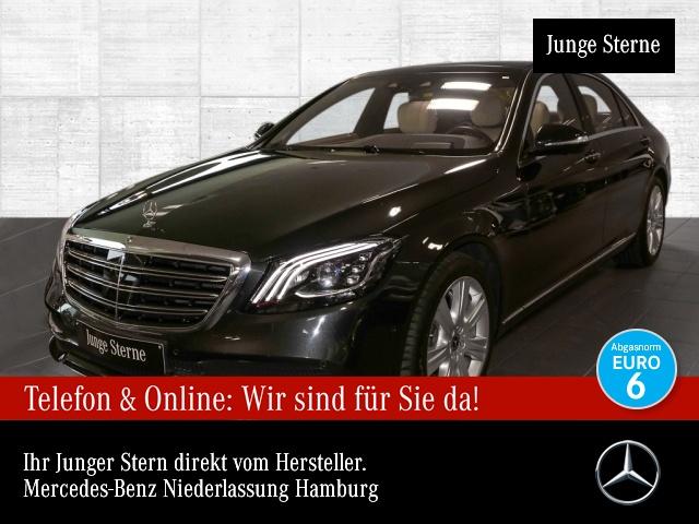 Mercedes-Benz S 560 L 4M 360° Pano Multibeam Burmester Distr, Jahr 2017, Benzin