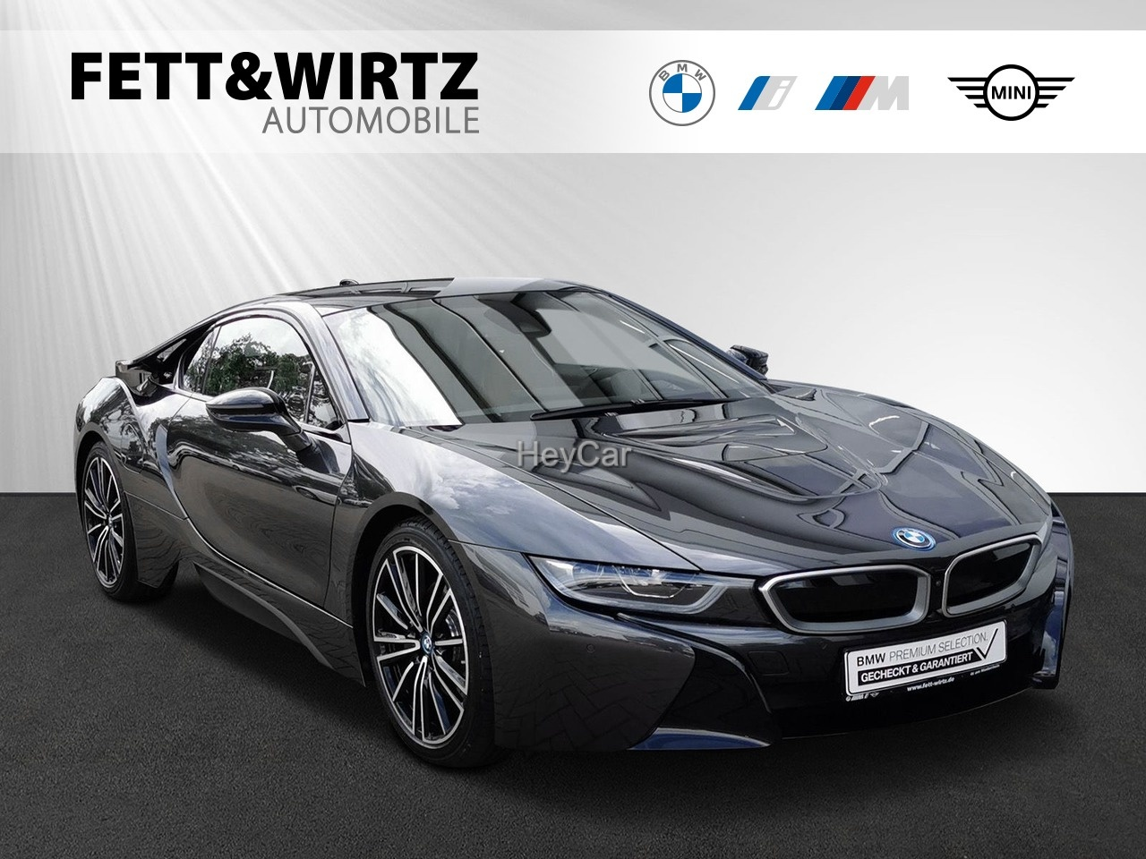 BMW i8 Coupe 20'' HUD HK Leas. ab 985,- br. o. Anz., Jahr 2020, Hybrid