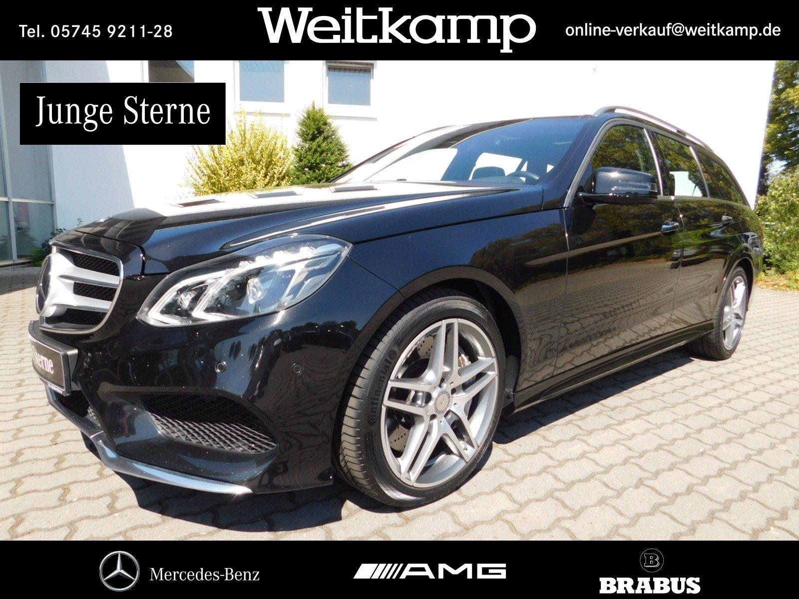 Mercedes-Benz E 500 T 4M AMG+Pano.+Standh.+Memory+Keyless+H&K, Jahr 2014, petrol