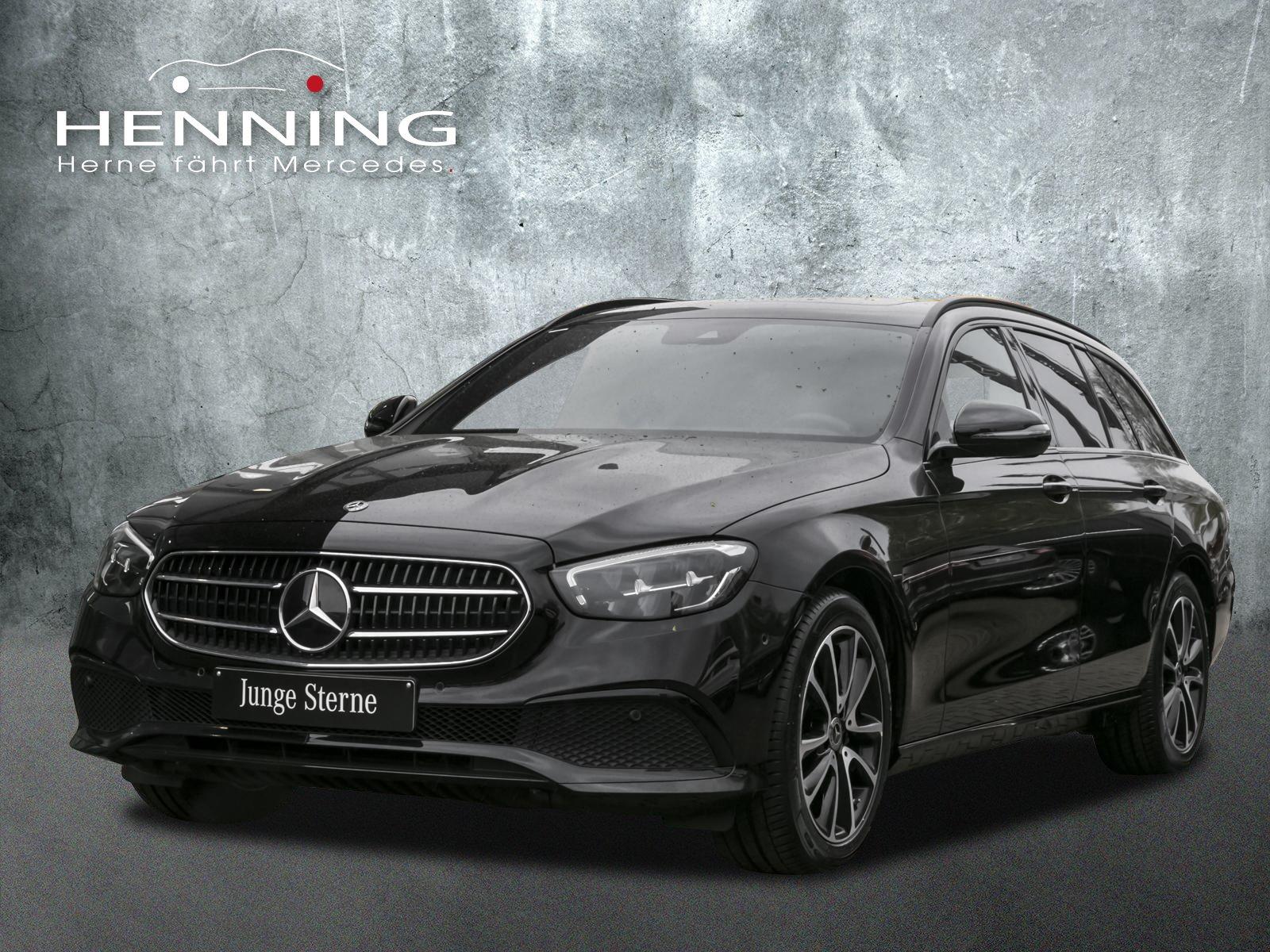 Mercedes-Benz E 200 T Avantgarde Widescreen Night Schiebedach, Jahr 2020, Benzin