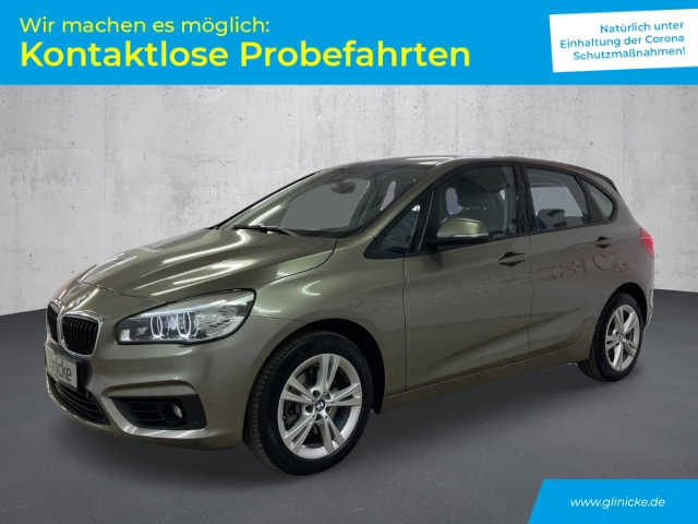 BMW 220 Active Tourer Advantage Automatik Navi LED Leder PDC, Jahr 2016, Benzin
