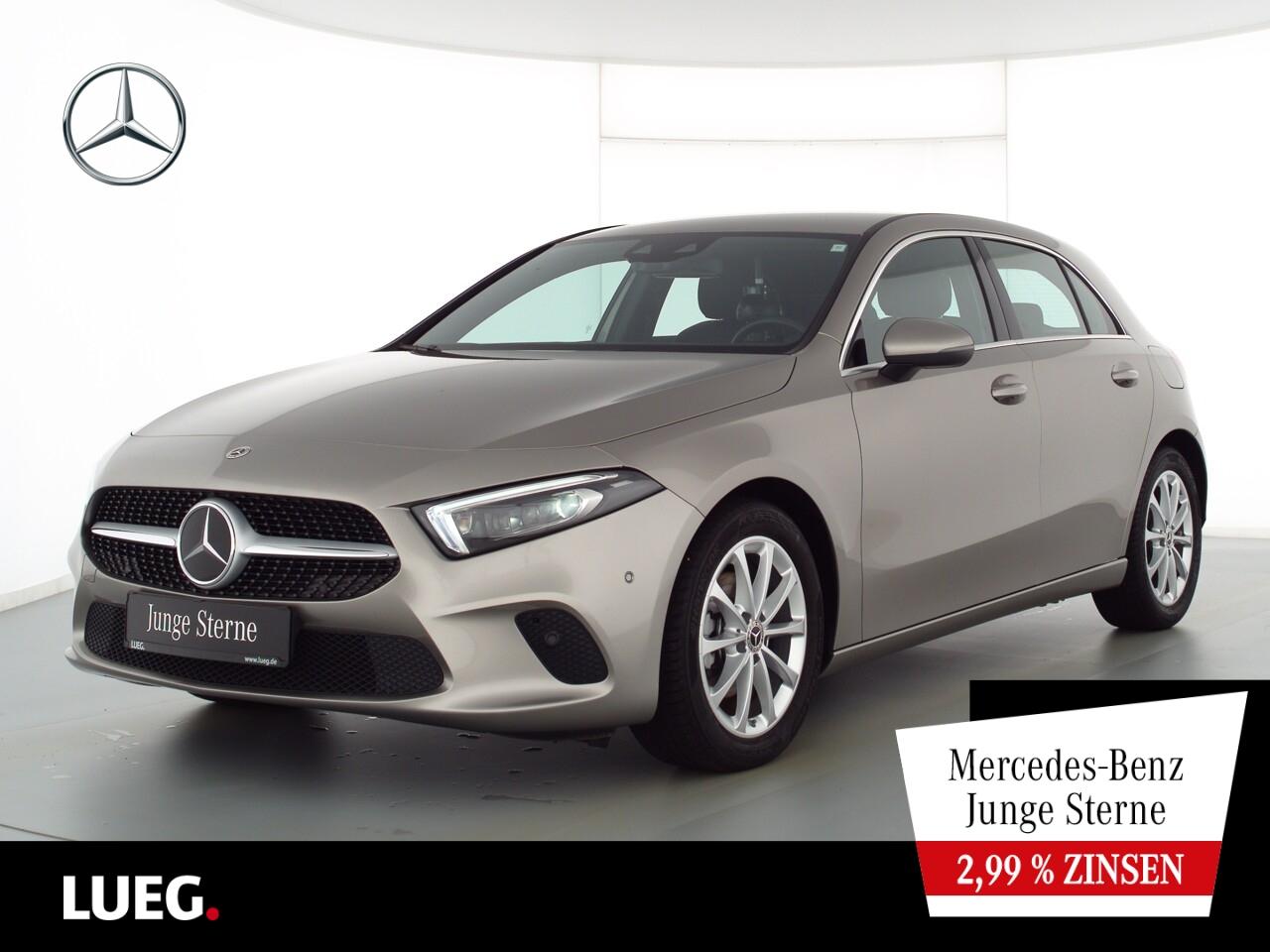 Mercedes-Benz A 180 d Progressive+MBUXHighEndP+Mbeam+Distr+RFK, Jahr 2020, Diesel