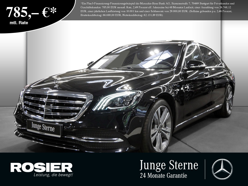 Mercedes-Benz S 350 d 4M lang, Jahr 2020, Diesel