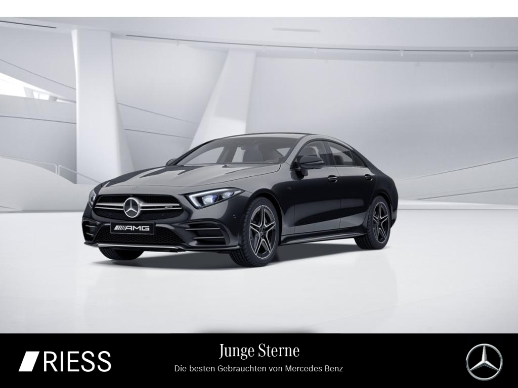Mercedes-Benz CLS 53 AMG 4M+ AMG Sport Night Com LED Distr Wid, Jahr 2020, Benzin