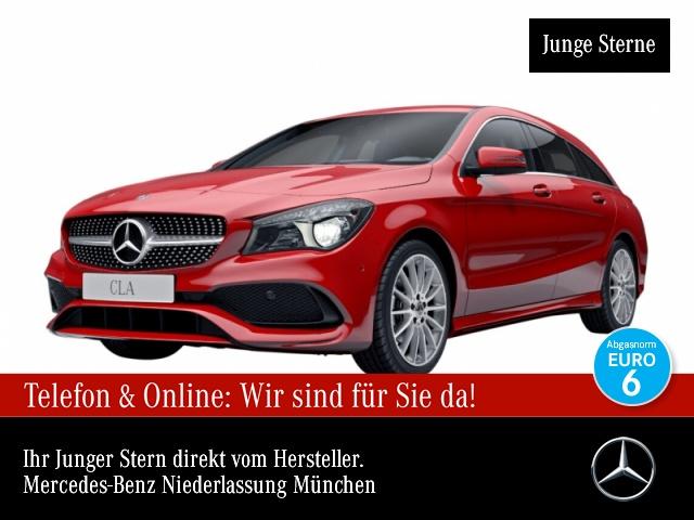 Mercedes-Benz CLA 200 SB AMG Navi Sitzh Sitzkomfort Chromp Temp, Jahr 2017, Benzin