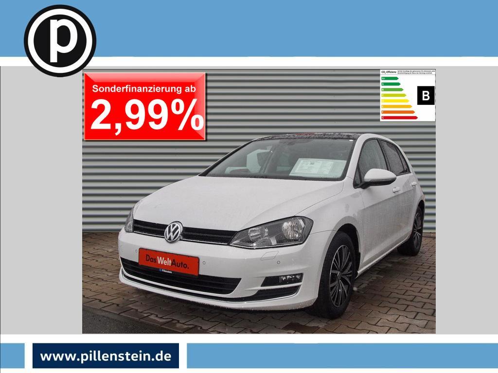 Volkswagen Golf 1.4 TSI Allstar DSG PANO NAVI TEMPOM SITZH, Jahr 2016, Benzin