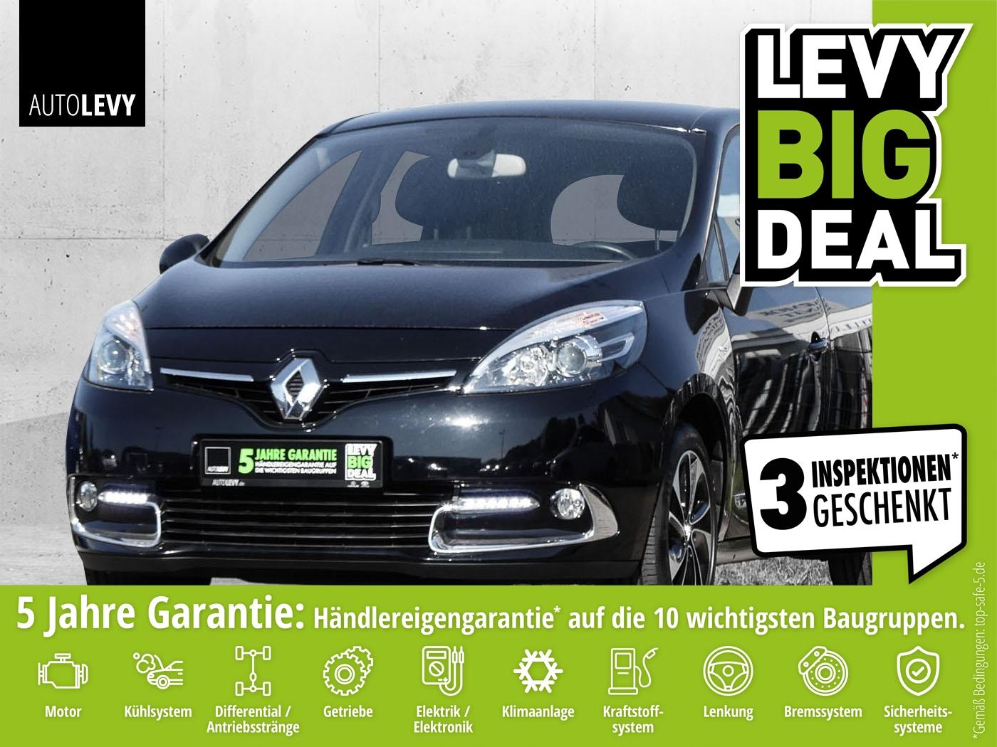 Renault SCENIC TCe 130 BOSE EDITION S&S *Bose*Navi*WKR*P, Jahr 2014, Benzin