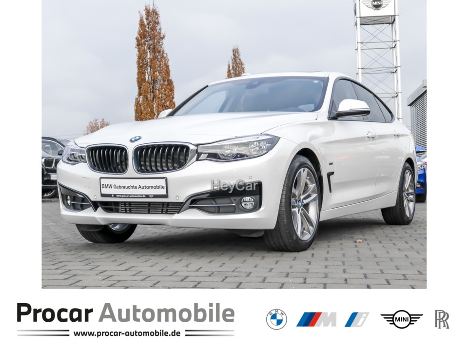 BMW 320 Gran Turismo GT Sport Line Head-Up LED Pano, Jahr 2017, Diesel