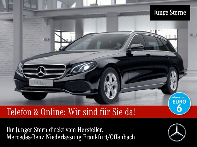 Mercedes-Benz E 220 d T Avantgarde COMAND LED Kamera PTS 9G Temp, Jahr 2017, Diesel