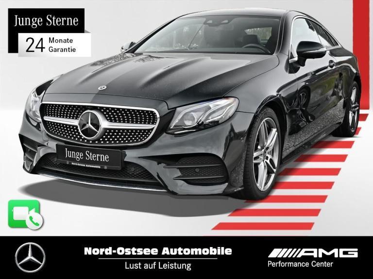 Mercedes-Benz E 300 Coupé AMG Comand Distr. LED Widescreen, Jahr 2019, Benzin