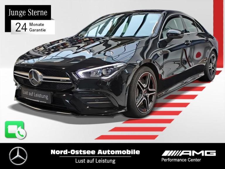Mercedes-Benz CLA 35 AMG 4M Designo Pano Kamera Navi MBUX LED, Jahr 2020, Benzin