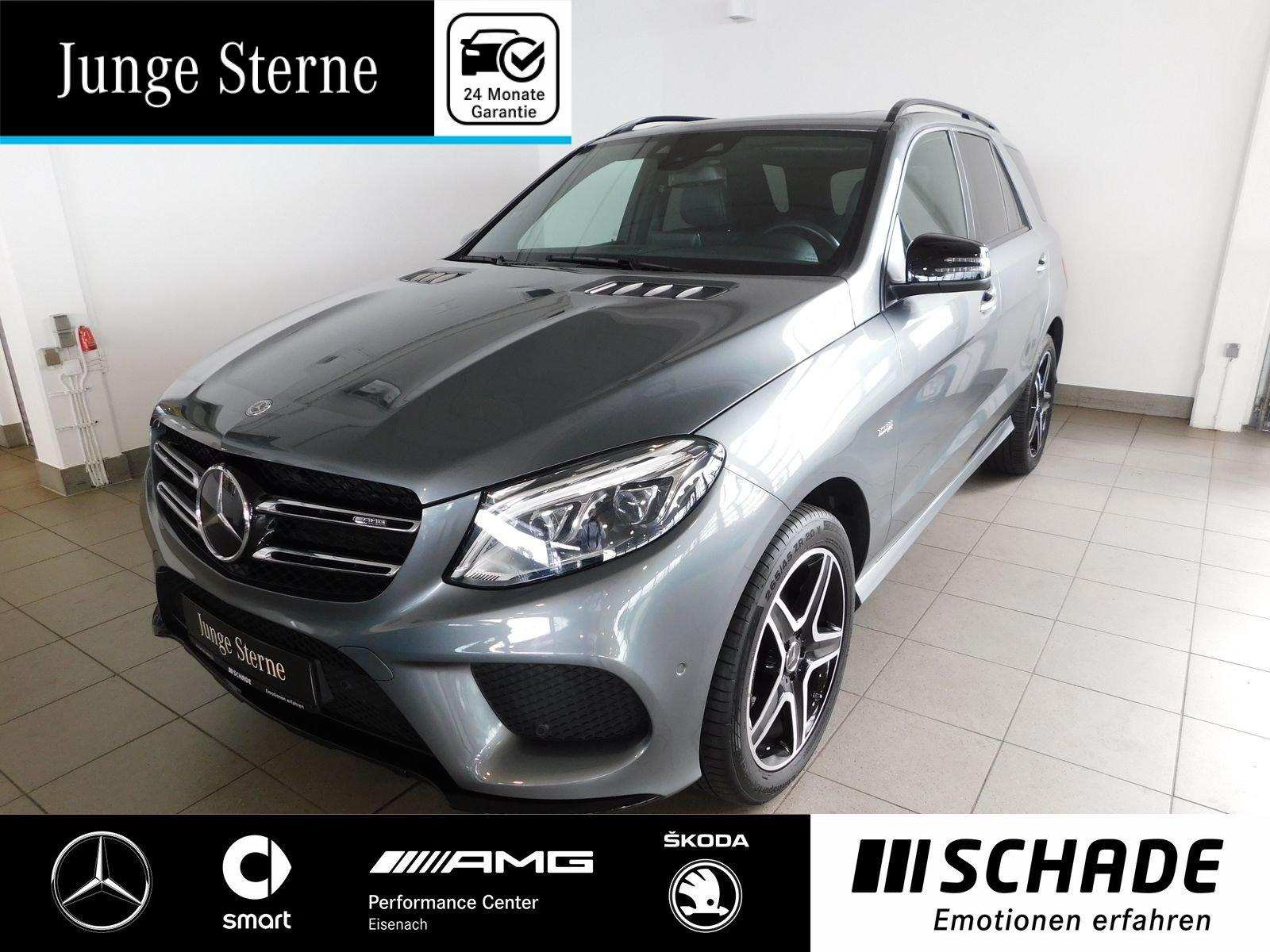 Mercedes-Benz GLE 43 AMG Comand*AHK*Airmatic*Distronic*Night-P, Jahr 2017, petrol