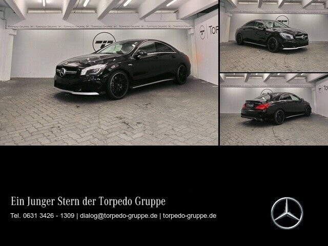 Mercedes-Benz CLA 45 AMG 4M COUPÉ XENON+PTS+SHZ+KLIMA+uvm, Jahr 2015, Benzin