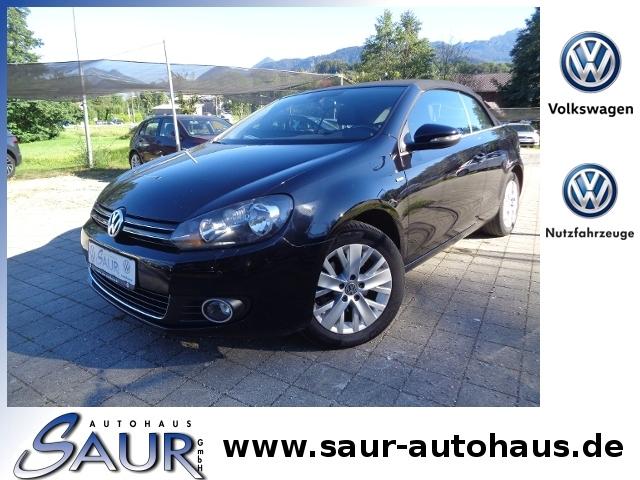 Volkswagen Golf VI Cabriolet 1.6 TDI Life KLIMA ALU, Jahr 2013, Diesel
