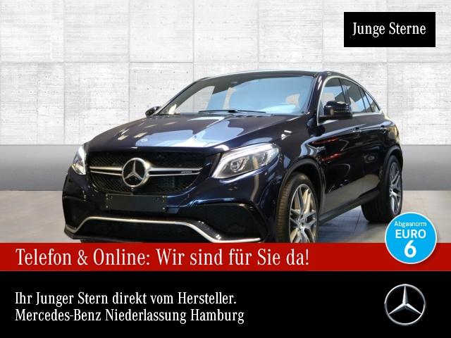 Mercedes-Benz GLE 63 4MATIC Coupé Sportpaket Bluetooth Navi LED, Jahr 2017, Benzin