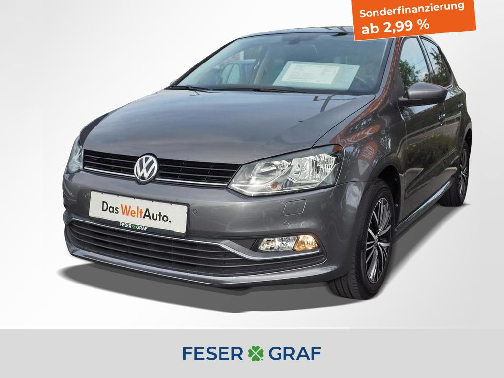 Volkswagen Polo 1.2 TSI Allstar Climatronic / Sitzheizung, Jahr 2016, Benzin