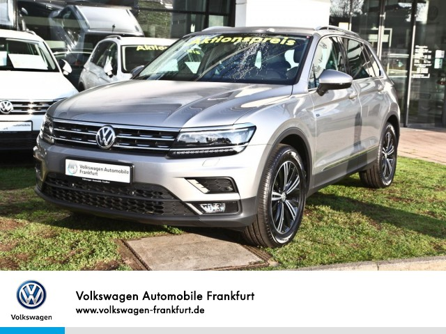 Volkswagen Tiguan 1.5 TSI JOIN Einparkhilfe Navi AHK Leichtmetallfelgen Tiguan 1.5actCLOPFFR 96 TSIM6F, Jahr 2019, Benzin