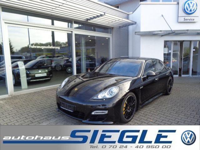 Porsche Panamera Turbo PDK*Ceramic*SportDesign*Voll, Jahr 2013, petrol