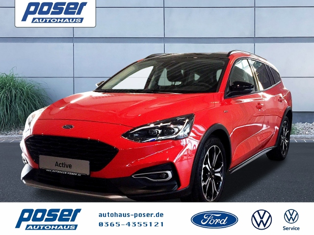 Ford Focus 1.0 EcoBoost Active Turnier LED PDC KLIMA, Jahr 2019, Benzin