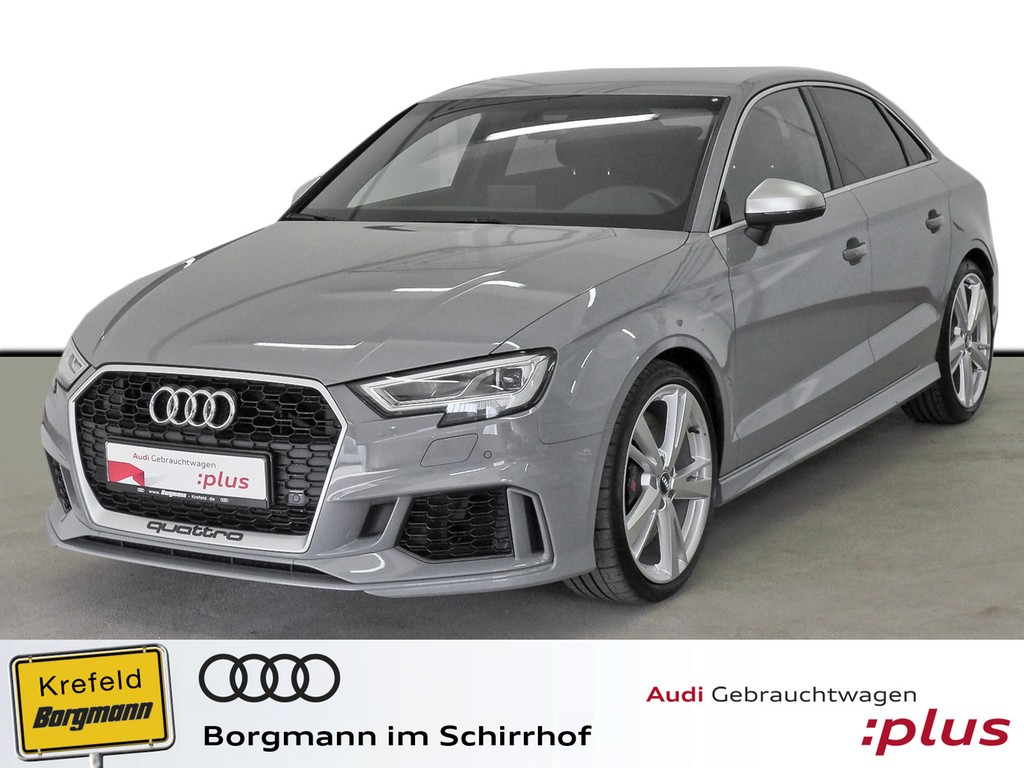 Audi RS 3 Limo 2.5 TFSI quattro S tronic MMI Navi LED Einparkhilfe plus, Jahr 2018, Benzin