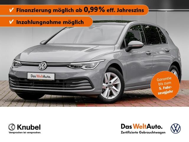 Volkswagen Golf VIII Life 1.5 TSI DSG Navi Pano IQ.Light DC, Jahr 2020, Benzin