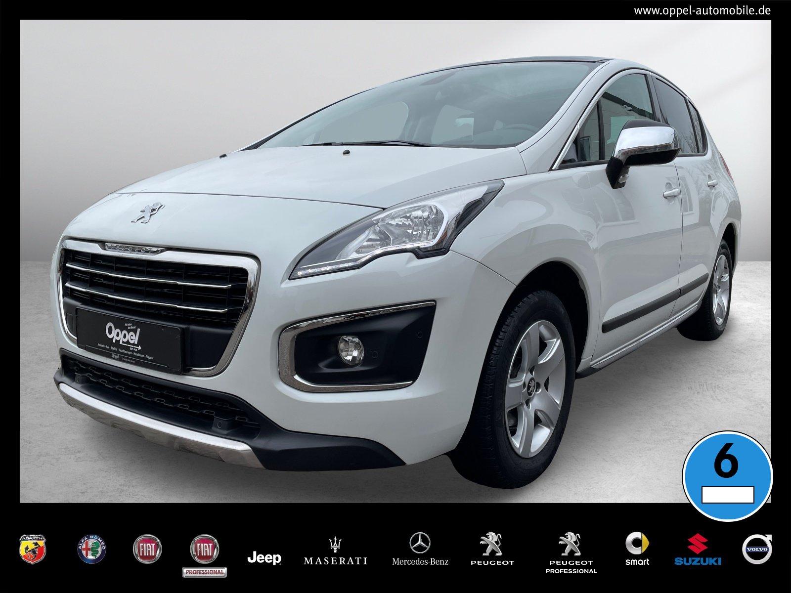 Peugeot 3008 Allure 1.6 120 NAVI+SITZH.+PANO+TEMPO+BT BC, Jahr 2015, Diesel