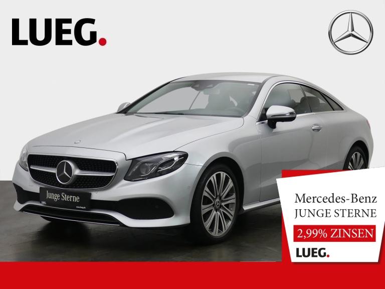 Mercedes-Benz E 200 Coupe Avantgarde+COM+Burm+Mbeam+DistrP+360, Jahr 2018, Benzin