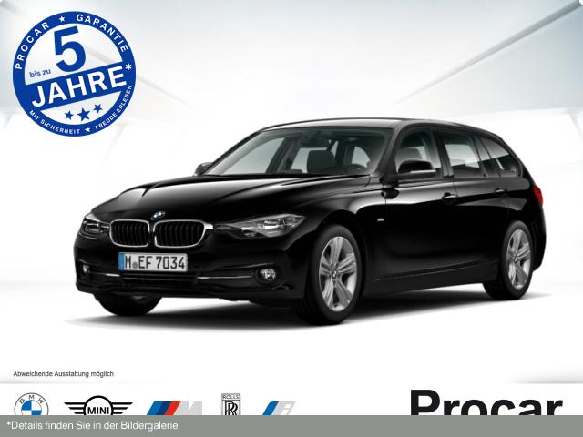 BMW 320d EfficientD. Ed. Touring Sport Line Aut. PDC, Jahr 2016, Diesel