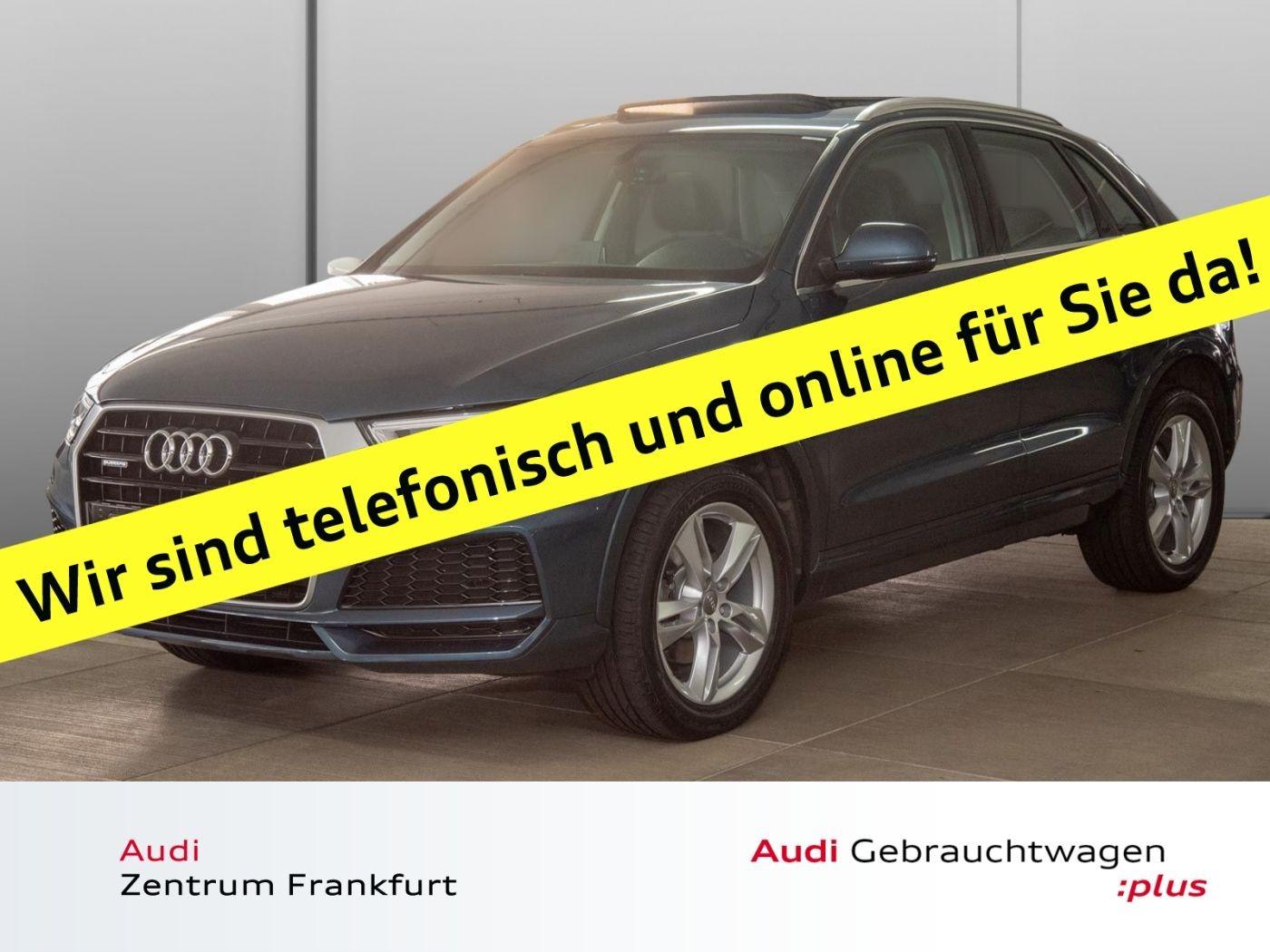 Audi Q3 2.0 TDI quattro S line Navi Panorama DAB Sitzheizung, Jahr 2017, Diesel