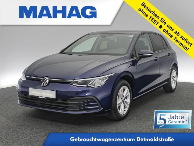 Volkswagen Golf VIII LIFE 1.5 TSI NaviPro LED DigitalCockpit ACC AppConnect DAB+ FrontAssist Keyless ParkPilot 6-Gang, Jahr 2020, Benzin