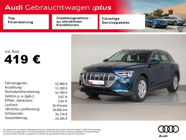 Audi e-tron 50 quattro LED/Virt./NAV, Jahr 2020, Elektro