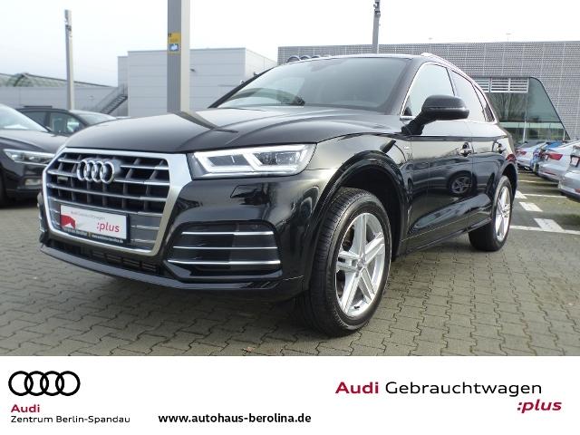 Audi Q5 45 TFSI qu.*3x S line*S tronic *NAV+*VC*AHK*, Jahr 2019, Benzin