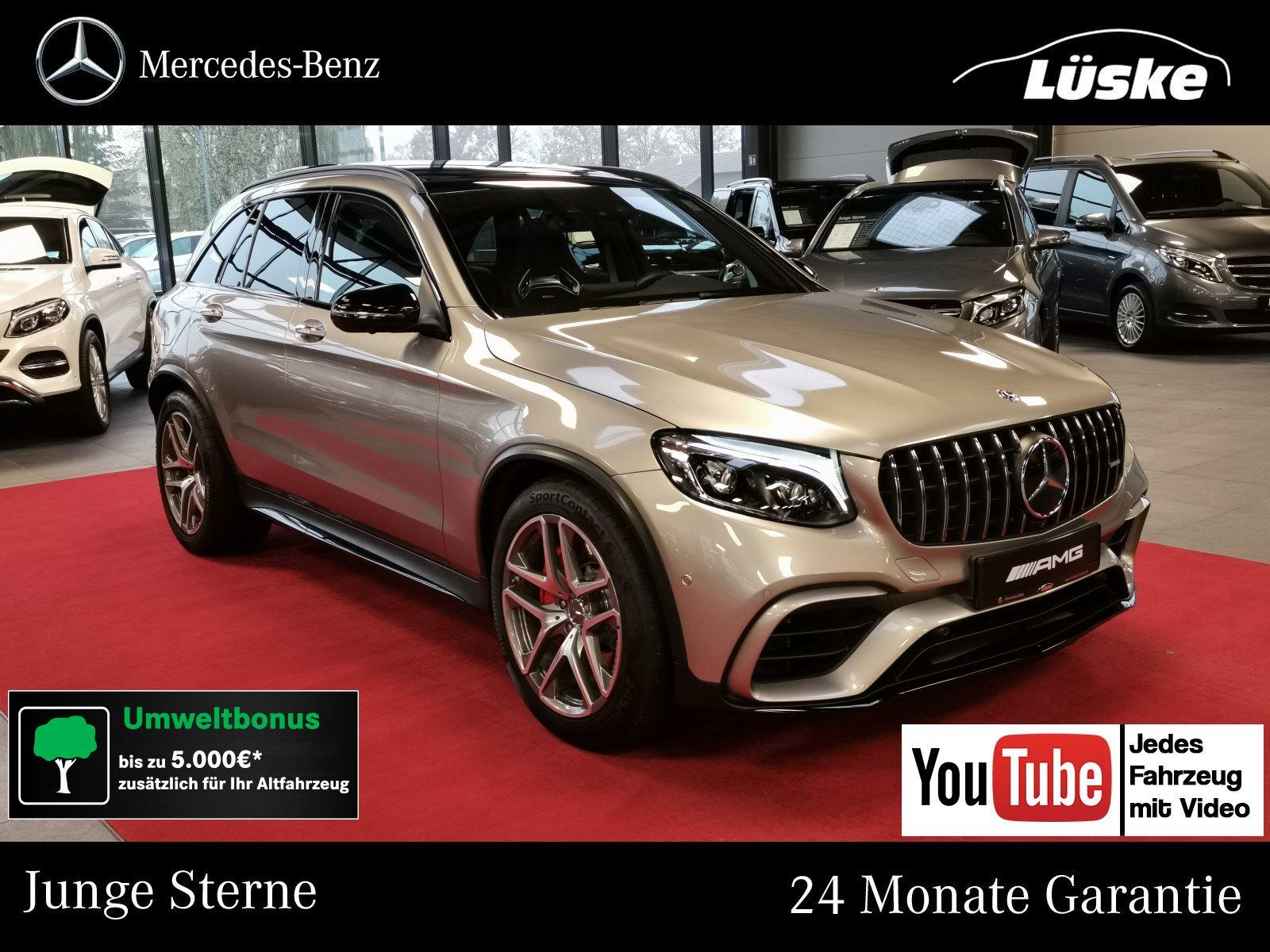 Mercedes-Benz GLC 63 AMG S 4M+ Night Perf. AbGas Pano Burmest, Jahr 2018, Benzin